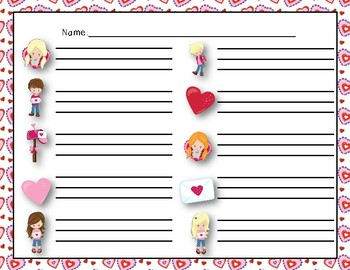 """Love Letters"" - A Valentine's Day 'Write the Room' Melodic Activity - So Mi"
