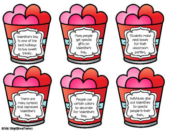 {{Love is in the air! A Valentine's Day Main Idea Matchmaking Activity}}