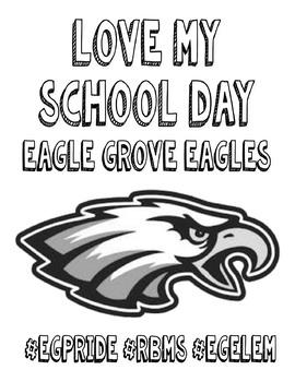 #LoveMySchoolDay Coloring Book