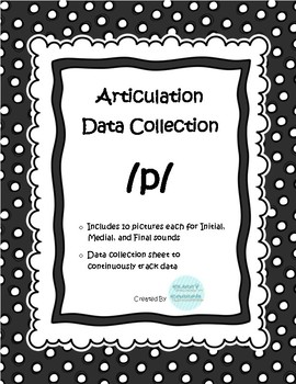 /p/ Articulation Data Collection Progress Monitoring Tool- Limited time FREE
