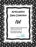 /p/ Articulation Data Collection Progress Monitoring Tool