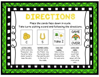 """""""Lucky Leprechaun"""" ~ A St. Patrick's Day-Themed LETTER/SOUND Phonics Game"""