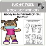 """""""Lucy's Mask"""" Book companion and no prep mini lesson"""