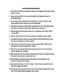 """Lunch Money"" Comprehension Questions"