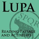 """Lupa"" Reading Passage and Activities"