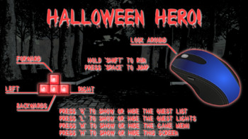 (MAC VERSION) ★ Halloween Hero - Direction Following Game For Telepractice ★