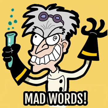 """MAD WORDS!"" alphabetize the words practice CCSS.ELA-LITERACY.L.2.2.E"
