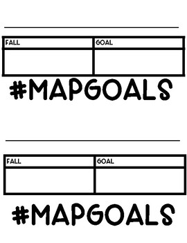 #MAPGOALS for NWEA MAP Testing