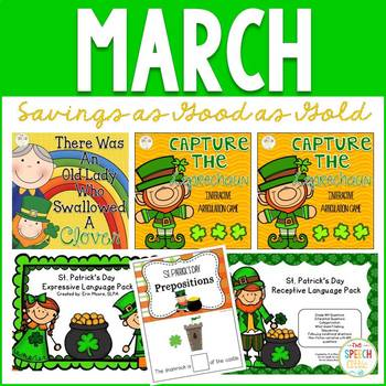 MARCH: Speech and Language Therapy Bundle