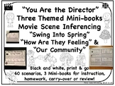 Inferencing Movie Scenes NO PREP Spring, Emotions, Community Mini-books
