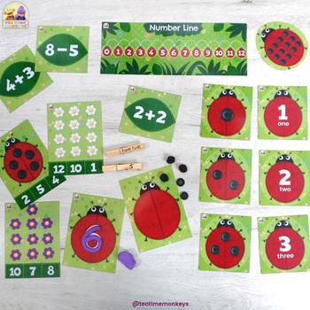 ¡MARIQUITAS AMIGUITAS! - 10 juegos y actividades para matemáticas tempranas