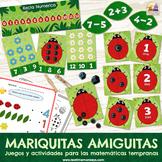 ¡MARIQUITAS AMIGUITAS! - 10 juegos y actividades para mate