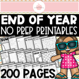 ***MAY IN 2ND GRADE 150 PAGES OF END-OF-YEAR REVIEW ACTIVITIES + CLASS AWARDS***