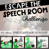 Escape the Speech Room - WHAT IS SLP?