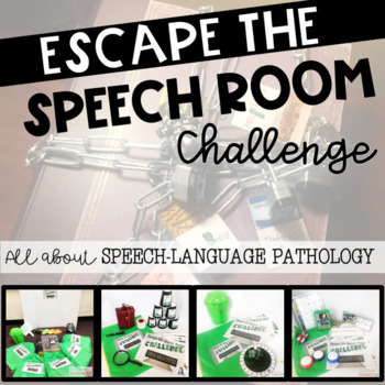 Escape the Speech Room - WHAT IS SLP?