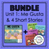 ¡ME GUSTA! Unit 1 for Elementary Spanish + NEW!! Short Stories
