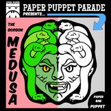 """""""MEDUSA the GORGON"""" Paper Bag Puppet"""