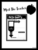!!MEET THE TEACHER!!//Version 1//Completely Editable//