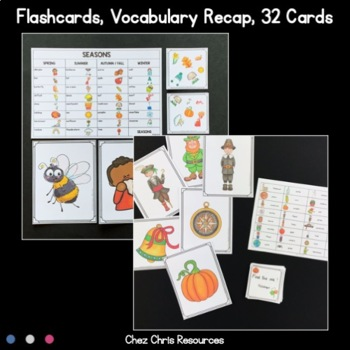 [MEGA BUNDLE 2]Find the one ! 8 sets to play and work on vocabulary