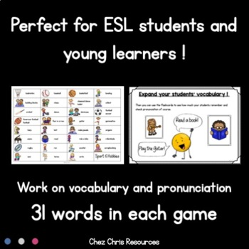 Find the One ! 8 Sets to Play and Work on Vocabulary MEGA BUNDLE 2