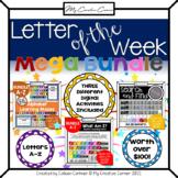 [~MEGA BUNDLE~] Letter of the Week Digital Preschool & Kin