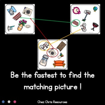 [MEGA BUNDLE]Find the one ! 8 sets to play and work on vocabulary
