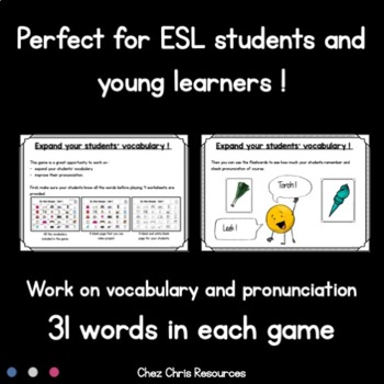 Find the One ! 8 Sets to Play and Work on Vocabulary MEGA BUNDLE