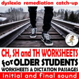 {DYSLEXIA WORKSHEETS} {READING FLUENCY} {CONSONANT DIGRAPHS}