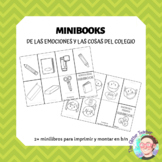 [MINIBOOK] Emotions & feelings and School items