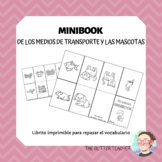 [MINIBOOK] Means of transport & pet animals