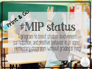 #MIP Improving Behavior