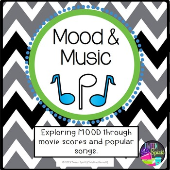 """MOOD Project """"Music & Mood""""- Exploring Literary Terms through Songs!"""
