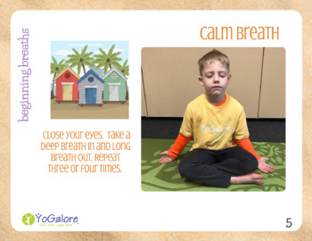 Distance Learning: (MORE) Beach/Ocean Theme Yoga & Movement Cards