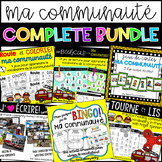 {Ma Communauté: COMPLETE BUNDLE} Resources for grade 1 French Immersion