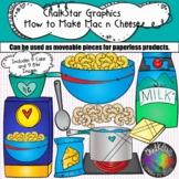 {Macaroni and Cheese} How to Make Mac 'n' Cheese Clip Art- Chalkstar Graphics