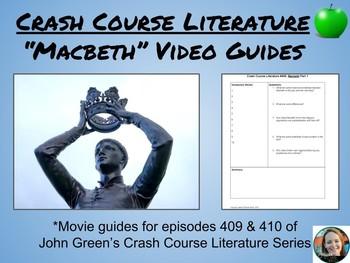 """Macbeth"" Crash Course Literature Video Guides (Episodes 409 & 410)"