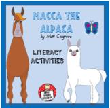'Macca the Alpaca' Literacy Activities