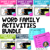 25 Short Vowel Word Family Activities | Short Vowel Games