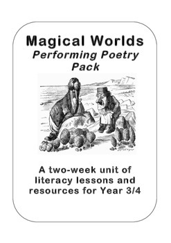'Magical Worlds' Poetry Planning for Years 3 and 4 (2nd/3rd Grade)