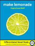 """Make Lemonade"" Novel Study"