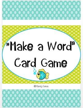 """Make a Word"" Card Game"