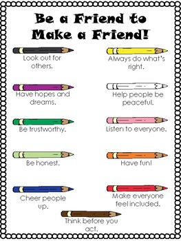 """Making Friends Is an Art"" Mini Poster"