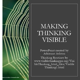 """""""Making Thinking Visible"""" PowerPoint Posters"""