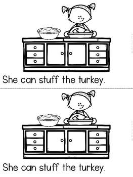 """Making Turkey"" (A Thanksgiving Emergent Reader Dollar Deal)"