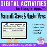 """""""Mammoth Shakes..."""" Digital Activities Collections Grade 6"""