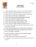 """""""Maniac Magee"""" By Jerry Spinelli, Battle of the Books Questions"""