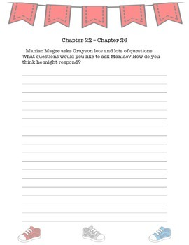 """Maniac Magee"" Journal Responses"
