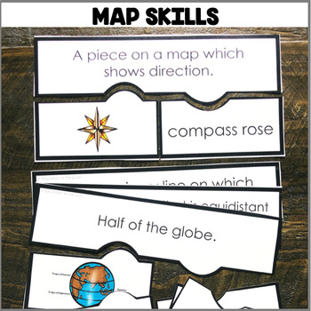 """Map Skills"" Center"