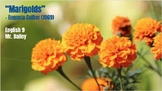 """""""Marigolds"""" Eugenia Collier Analysis Packet"""