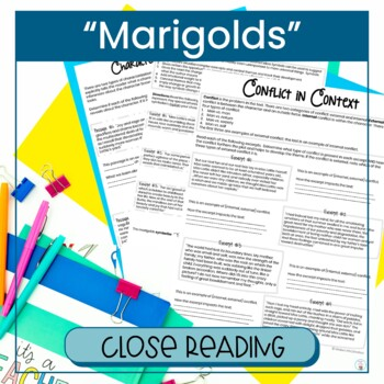"""""""Marigolds"""" by Eugenia Collier - Close Reading"""